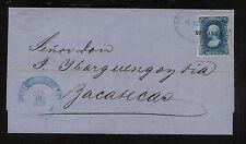 Mexico  folded letter  1879                                 KL0429