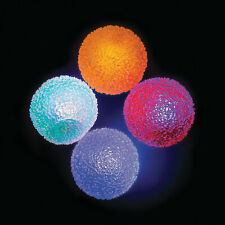 Light-Up Funky Bouncing Balls - Toys - 12 Pieces