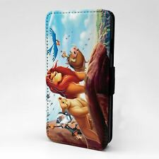 For Apple iPod Touch Flip Case Cover The Lion King Simba Scar - T1138