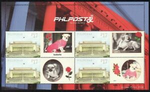 Philippines SK – 2021 ISABELLA, Beloved Family Dog, Personalized MS/4, MNH, VF