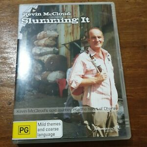 Kevin McCloud Slumming it DVD R4 VERY GOOD – FREE POST