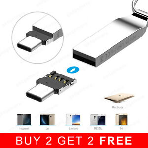 USB C OTG Adapter USB Type C Male to USB 2.0 Female Cable Converter Connector