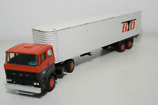 LION CAR DAF 2800 TRUCK WITH TRAILER BTO EXCELLENT