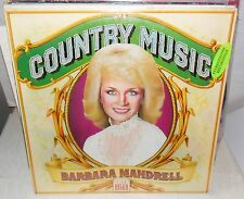 1981 COUNTRY MUSIC BARBARA MANDRELL TIME LIFE LP SEALED