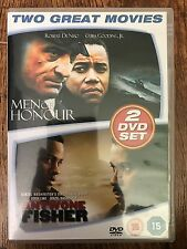 ANTWONE FISHER / UOMINI DI HONOUR ~ Vita Vera Drammatico Doppia Bill UK DVD