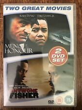 ANTWONE FISHER / MEN OF HONOR ~ True Life Drama Double Bill GB DVD