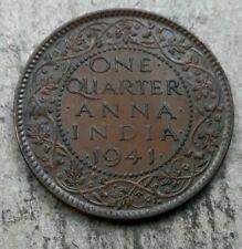India - British, 1941 1/4 Anna, KM531,