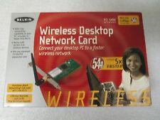 Belkin F5D7000 (722868462324) PCI Adapter 54g 802.11b Wireless Desktop Ntwk Card