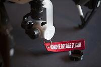 DJI Inspire 1 Flight Kit (V1 only for now) - Cap - Hood - Gimbal Lock - keychain
