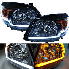 Fit 2009–2011 Ford Ranger T5 Upgrade Head Lamp Light With Drl Pickup Ute Xl Pair