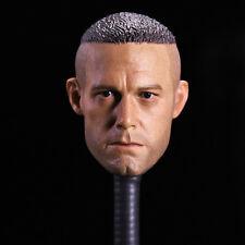 "Batman Ben Affleck Male Head Carving 1/6 Scale F 12"" Men Action Figure Doll Toys"