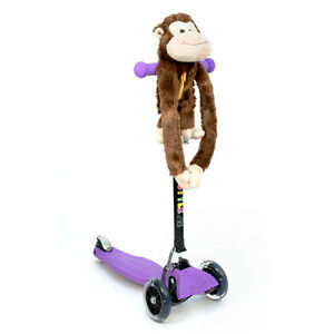 3StyleScooters® - Accessories - ZoomiBuddi Funky Monkey Plush Teddy Toy