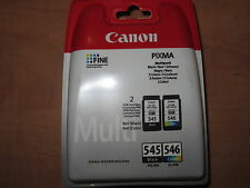 PACK ORIGINAL CANON PG545/ CL546 CON UN CARTUCHO NEGRO Y UNO COLOR