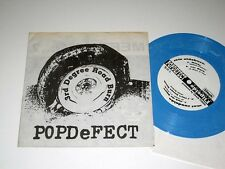 "7"" Punk 33 RPM EP w/PIC SLEEVE Pop Defect 3RD DEGREE ROAD BURN Flipside NM!"