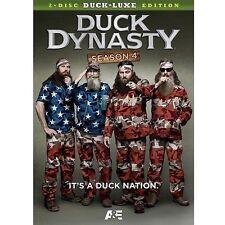BRAND NEW  DUXE LUXE ED. DUCK DYNASTY SEASON 4 DVD REDNECK EDEN IN N. LOUISIANA