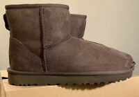 UGG CLASSIC MINI II WOMAN'S BOOTS 1016222 SIZE 10 AUTHENTIC, CHOCOLATE BRAND NEW