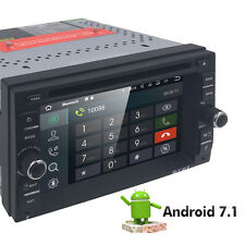 RAM 2GB Android 7.1 In Dash 2Din Car DVD Radio Stereo GPS Player WiFi 4G DAB