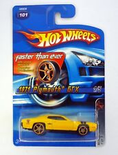 Hot Wheels 1971 Plymouth GTX #101 Muscle Mania Die-Cast Coche Moc Completo 2005