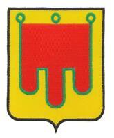 Patch ecusson brodé AUVERGNE   Blason armoirie drapeau region heraldique