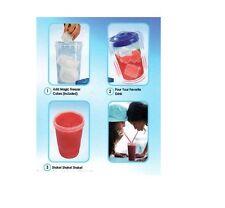 2 x SLUSHY INSTANT IN SECOND  FROZEN DRINK SLUSH MAKER CUP