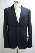 Neues AngebotHerren Turtle Slim Fit dunkelblau & schwarz Blazer (38r)... ref: 6868