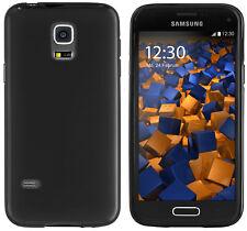 mumbi Hülle f. Samsung Galaxy S5 Mini Schutzhülle Case Tasche hülle Schwarz