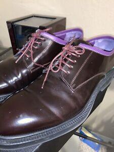 Paul Smith Plum Leather Oxfords size 10 UK 11 US