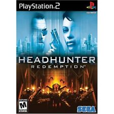 Headhunter: Redemption (2004) Brand New Factory Sealed USA Playstation 2 PS2