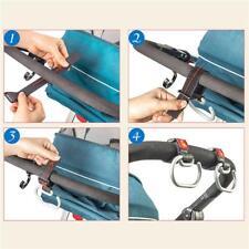 Infant Baby Pushchair Pram Stroller Hanger Trolley Clip Carry Hooks HS3