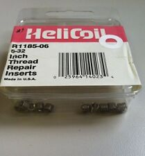 Helicoil R1185-06 Helical Insert, 304Ss, 6-32, Pk12
