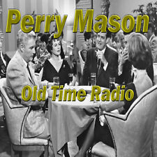 PERRY MASON (75 SHOWS) OLD TIME RADIO MP3 DVD OTR