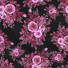 """Sewing Quilting Apparel Floral Print 100% Cotton Fabric By The Yard 44"""" Wide"""