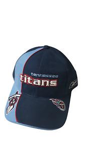 Reebok Tennessee Titans Cap Adjustable Hat Team Colors NFL Pro Line Authentic