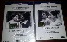 2 DVD I PROMESSI SPOSI I GRANDI SCENEGGIATI RAI SERIE COMPLETA