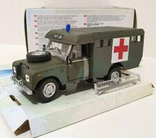 CARARAMA 1/43 Land Rover Serie III 109 Armée Ambulance