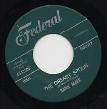 HANK MARR the greasy spoon*i can't go on without you 1964 US FEDERAL HAMMOND 45