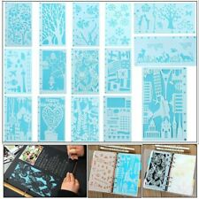 Wall Painting Flower Template Christmas Hollow Stencils Embossing Scrapbooking