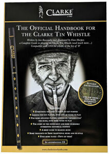 THE CLARKE TIN WHISTLE Book & CD. Irish Whistle tutor. From Hobgoblin Music