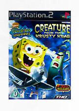 SpongeBob SquarePants: Creature from the Krusty Krab (Sony PlayStation 2, 2006) - European Version