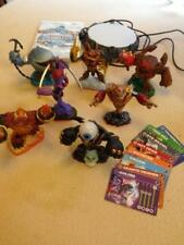 Lot Wii Skylander Giants Power of Portal, 7 Characters, Game CD, 8 Cards
