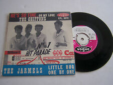 EP 4 TITRES VINYL 45 T . THE CHIFFONS + THE JARMELS , VOGUE 8091 . RARE . 1963 .