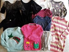 Girls Bundle Age 4-5 - Tops Jumpers Dresses Playsuit & Tights