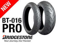 BRIDGESTONE BATTLAX BT016 PRO 120/70-17 + 190/55-17 *FREE POST* MOTORCYCLE TYRES