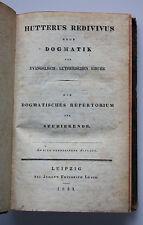 Hutterus Redivivus oder Dogmatik der evangelisch-lutherischen Kirche - 1833