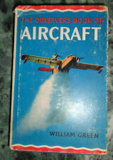 OBSERVER'S BOOK OF AIRCRAFT WILLIAM GREEN 1969 INGLESE - SILHOUETTE AEREI AA/528