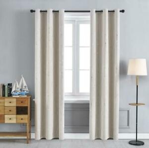 Fashion Meteor Window Blackout Curtain Living Room Bedroom Drape Decoratio