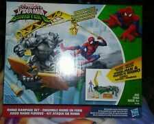 Marvel Spider-Man sinister 6 Rhino Rampage Play Set more an combined shipping.