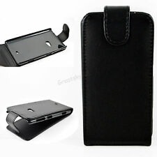 Cell Phone Leather Skin Flip Pouch Case Cover Fit For Nokia Lumia 625 625h N625
