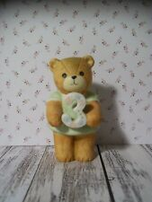 Enesco Lucy Rigg Bears, Lucy & Me, Teddy Bear, Green Dress, 3rd Birthday