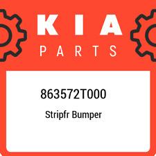 863572T000 Kia Stripfr bumper 863572T000, New Genuine OEM Part